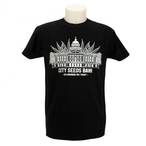 City Seeds Bank T-Shirt Mens