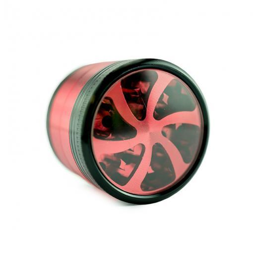 CSB Red Four Tier Metal Grinder