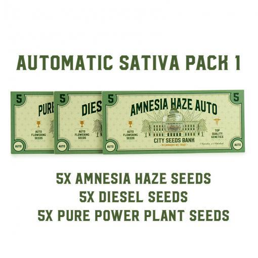 Automatic Sativa Pack 1