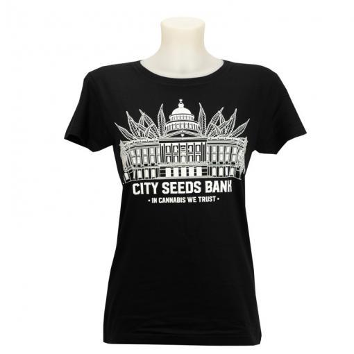 City Seeds Bank T-Shirt Womans
